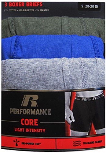 Russell Performance Boxer Briefs 3 pack