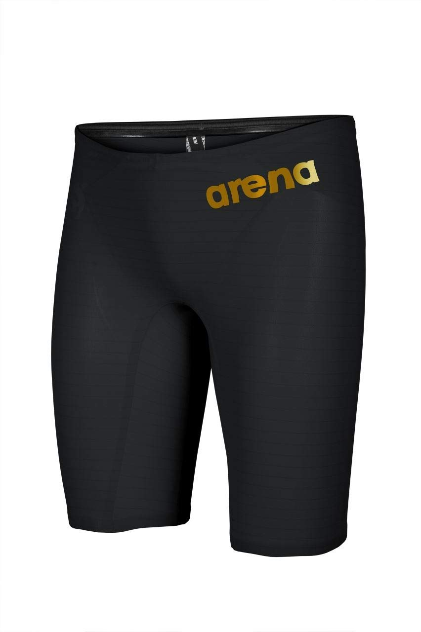 Arena Carbon Air2 Jammer (26, Black/Black/Gold) by Arena