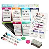 Bieco Dry Erase Calendar Weekly, Magnetic Calendar For...