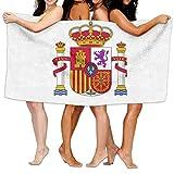 raikay Unisex Spain Flag Creating Personalised Custom Bath Towels 100% Polyester,Superfine Fiber Super Absorbent,for Home/Bathrooms/Pool/Gym (31'' 51'')