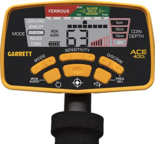 Garrett Ace 400i 400 I PREMIUM Set Detector de metales metal lsuch dispositivo schatzsuche Detector metal Detector: Amazon.es: Bricolaje y herramientas