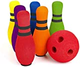 FOREVIVE Kids Bowling Set Indoor Outdoor Children's