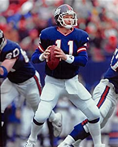 Phil Simms Unsigned 8x10 photo (New York Giants) Image #3