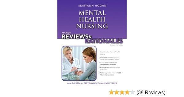 Pearson Reviews Rationales Mental Health Nursing With Nursing