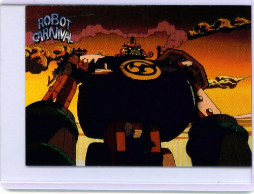 Masters of Japanese Animation Robot Carnival Promo Card P2