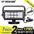 WOWLED Portable 27W LED Work Light Floodlight Magnetic Base Truck Car Home Camping Lamp Light 12V 24V