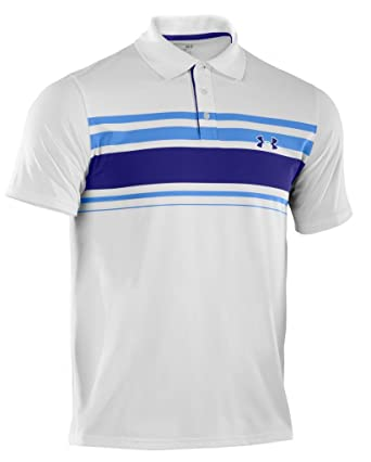 Under Armour - Polo de Golf para Hombre, tamaño L, Color Blanco ...