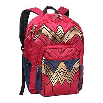 2018 Dawn of Justice DC Wonder Woman Mochila Escolar para Regalo de cumpleaños, Mochilas para Hombres y Mujeres: Amazon.es: Hogar