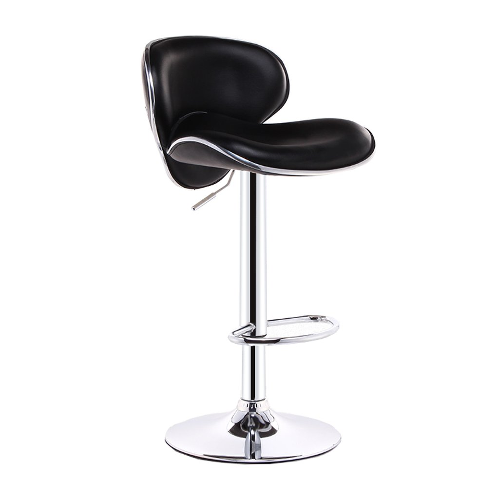 Awesome Amazon Com Pu Leather Chair Bar Stool Height Adjustable Gmtry Best Dining Table And Chair Ideas Images Gmtryco