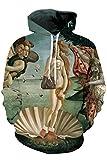 download ebook cutiefox womens the birth of venus print pullover hoodie sweatshirt blue xxl pdf epub