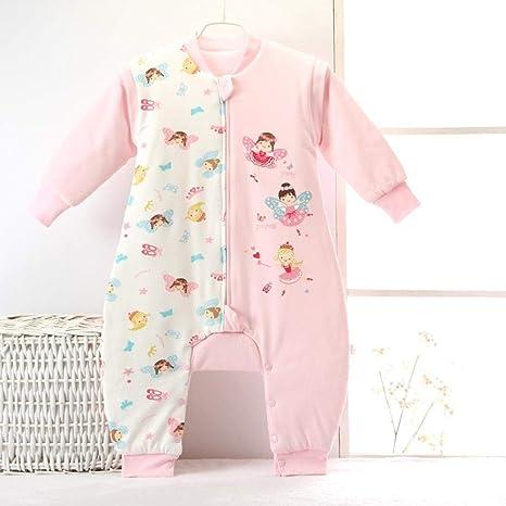 Gleecare Saco de Dormir para bebé,Algodón bebé Fractura Pierna Saco de Dormir bebé Primavera