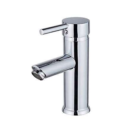 Beati Faucet Modern Bathroom Vessel Sink Single Handle Deck Mount ...