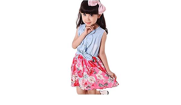 yumm Princesa Niño vestido, Moda Niña Vestido Girasol Floral ...