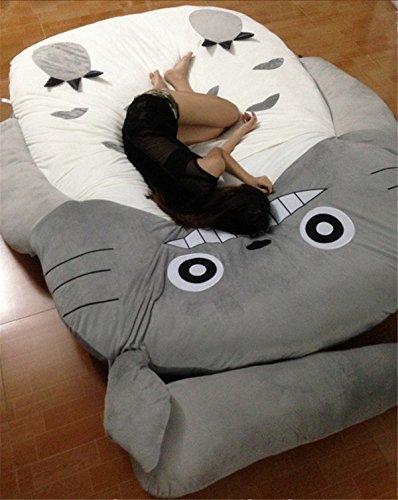 HOT SALE Children's and Adult Totoro Design Big Sofa Totoro Bed Mattress Sleeping Bag Mattress by VU ROUL (Image #2)