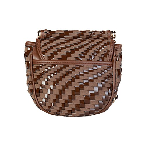 Cavalli Crossbody Bag Women Genuine Class RRP Body 00 £320 Cross Brown Bag Designer qnrIqp685