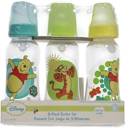 blue//yellow Winnie the Pooh Jumping Joyful 3-Pack Bottles one size