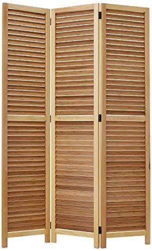 Screen Gems SG-256 Room Divider, Large, Brown