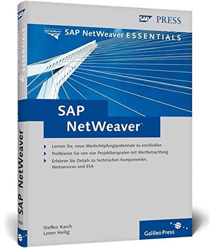SAP NetWeaver (SAP PRESS) Gebundenes Buch – 28. Oktober 2004 Steffen Karch Loren Heilig Christian Bernhardt Andreas Hardt