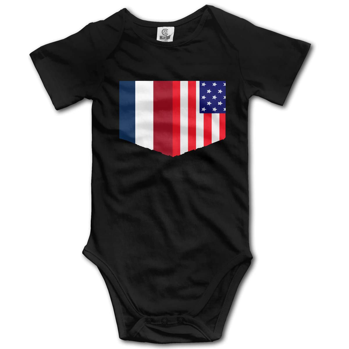 J122 Baby Boys Dutch American Short Sleeve Climbing Clothes Creeper Jumpsuits Suit 6-24 Months