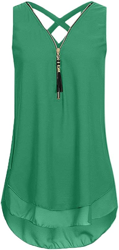 UK Womens Holiday Summer Vest Ladies Blouse Comfy Lace Tee Loose Sleeveless Tops