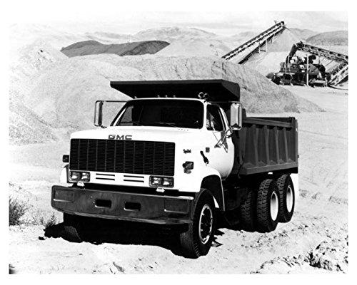 1980 ? GMC Topkick Dump Truck Photo Poster
