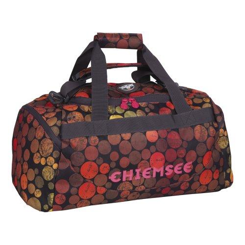 Chiemsee Sporttasche Matchbag Medium, schwarz (Dots Black), 56 x 28 x 28 cm, 44 Liter, 5060007