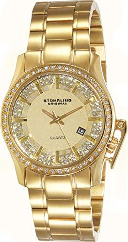 Stuhrling Original Women's 910.02 Symphony Calliope Gold-Tone Watch