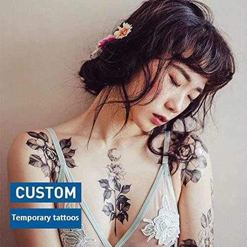 tzxdbh 3 Unids Personalizado OEM Tatuaje Temporal Personalizar ...