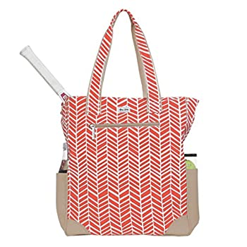 Image of Ame & Lulu Emerson Tennis Tote (Tango) Equipment Bags