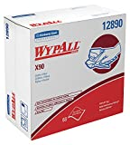 Wypall X90 Extended Use Cloths (12890), Reusable Wipes POP-UP BOX, Blue Denim, 5 Boxes/Case, 68 Sheets/Box, 340 Sheets/Case