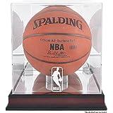 Mahogany Basketball Logo Display Case | Details: NBA