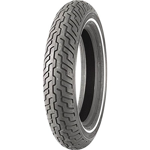 Dunlop Harley-Davidson D402 Front Motorcycle Tire MT90B-16 (72H) Slim White Wall - Fits: Harley-Davidson CVO Dyna Fat Bob FXDFSE 2009-2010