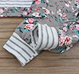 Baby Girls Long Sleeve Flowers Hoodie Print Hoodies