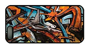 Hipster DIY iphone 5 cases graffiti wall PC Black for Apple iPhone 5/5S