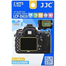 JJC LCP-D610 Guard Film Digital Camera LCD Screen Protector For Nikon D610 D600