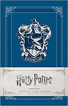 Harry Potter: Ravenclaw Ruled Notebook por Insight Editions