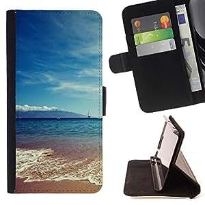 Dragon Case - FOR Samsung Galaxy S3 MINI 8190 - ?I'm out-going - Caja de la carpeta del caso en folio de cuero del tir¨®n de la cubierta protectora Shell