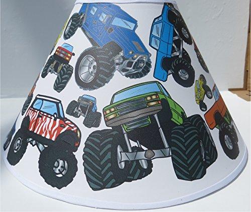 Monster Truck Lamp Shade Monster Truck Room Decor
