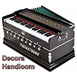 Jyotaksh Store 9 Stopper, Chudidaar Bellow 42 key 2 Reed Bass Male Kapler Harmonium with Cover (Natural)