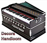 Best Harmonium 9 Stopper, Chudidaar Bellow, 42 key, Two reed, Bass Male, Kapler, Harmonium with Cover.