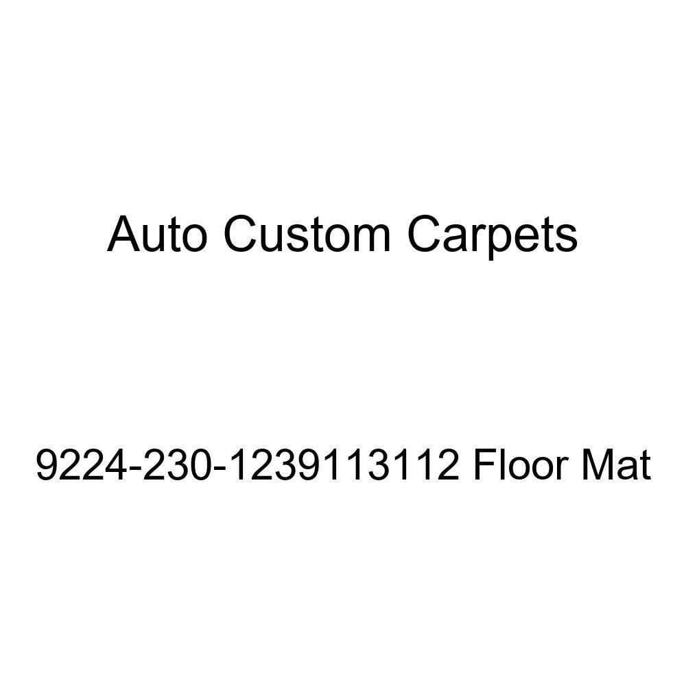 Floor Mats Auto Custom Carpets 9224-230-1239113112 Floor Mat