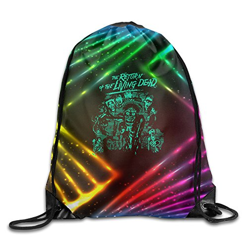 YYHU The Return Of The Living Dead Drawstring Backpack Bag Sack Bag - Great For Travel And Everyday Life