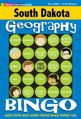 (South Dakota Geography Bingo Game (South Dakota Experience))