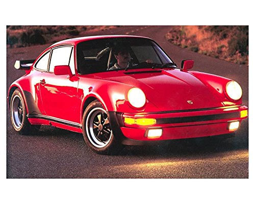 1988 Porsche 911 930 Turbo Automobile Photo Poster from AutoLit