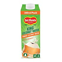 Del Monte King Coconut Water Tetra Pack 250ml