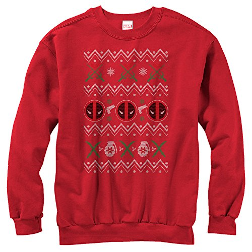 Marvel Deadpool Ugly Christmas Sweater Sweatshirt