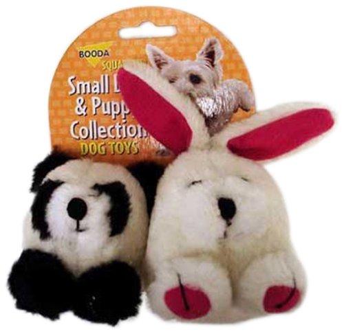 Booda 0353596 Small Dog & Puppy Squatter Panda / - Panda Dog Toy