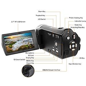 LAKASARA Video Camera Camcorders