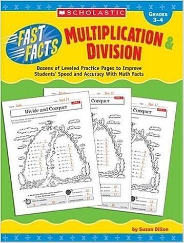 Amazon.com: Fast Facts: Multiplication & Division: Dozens of ...
