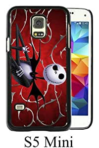 Beautiful And Unique Designed Case For Samsung Galaxy S5 Mini With Jack Skellington black Phone Case